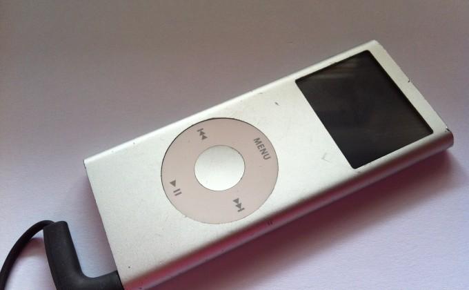 Mein iPod ist schon ziemlich in die Jahre gekommen, aber ...